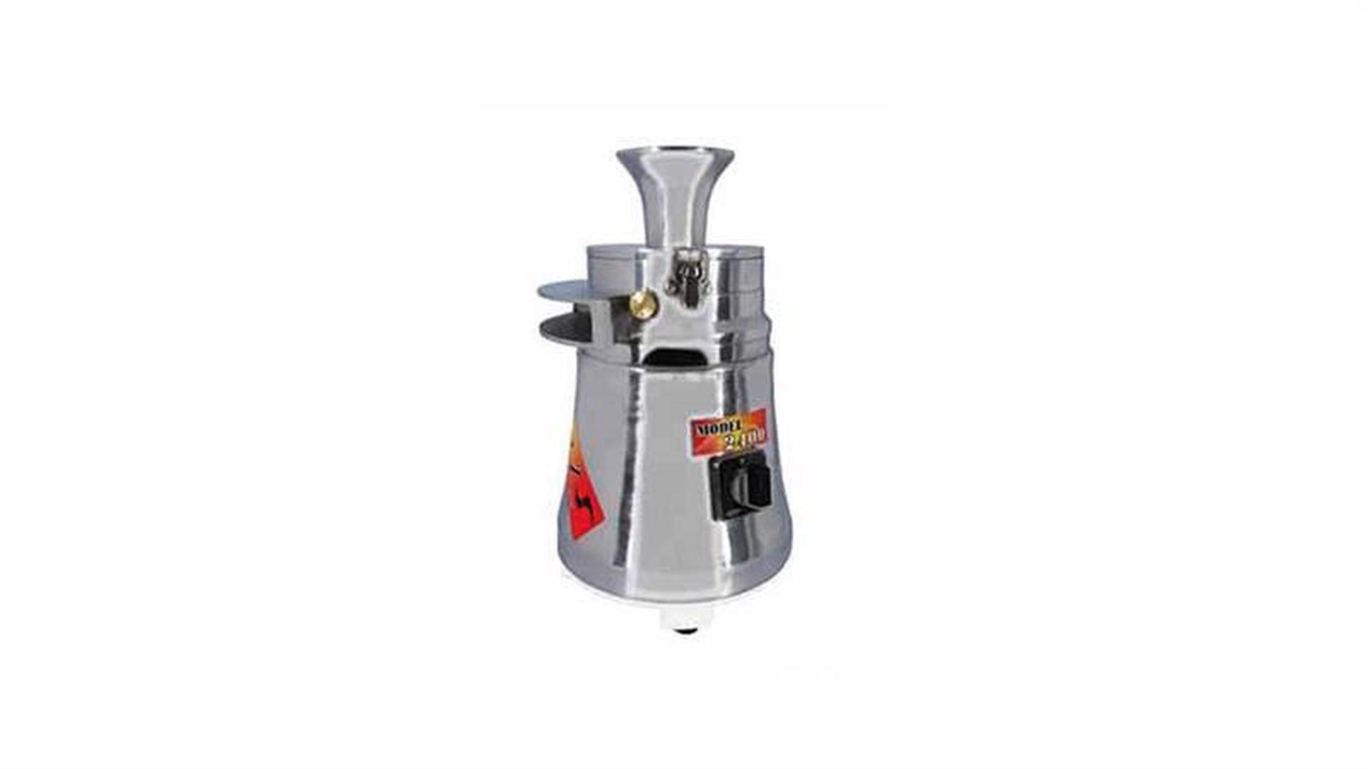 دستگاه آسیاب عطاری نیمه صنعتی استیل مدل ۲۴۰۰ دوبل