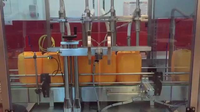 دستگاه پرکن روغن اتومات خطی , دستگاه پرکن خطی مایعات