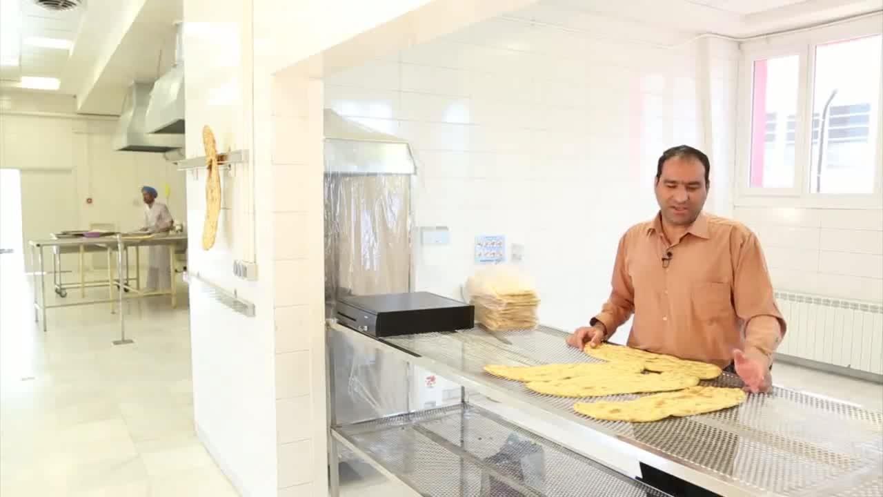 دستگاه پخت نان سنتی - نیمه اتومات