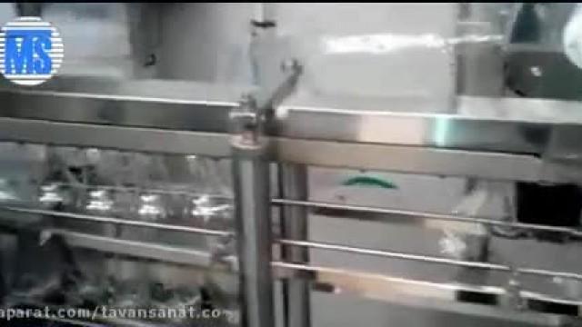 دستگاه تری بلوک 12 نازل , دستگاه پرکن خطی مایعات
