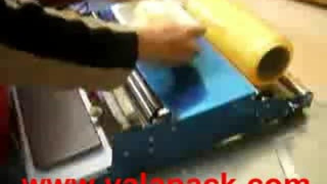 دستگاه بسته بندی سلفون استرچ