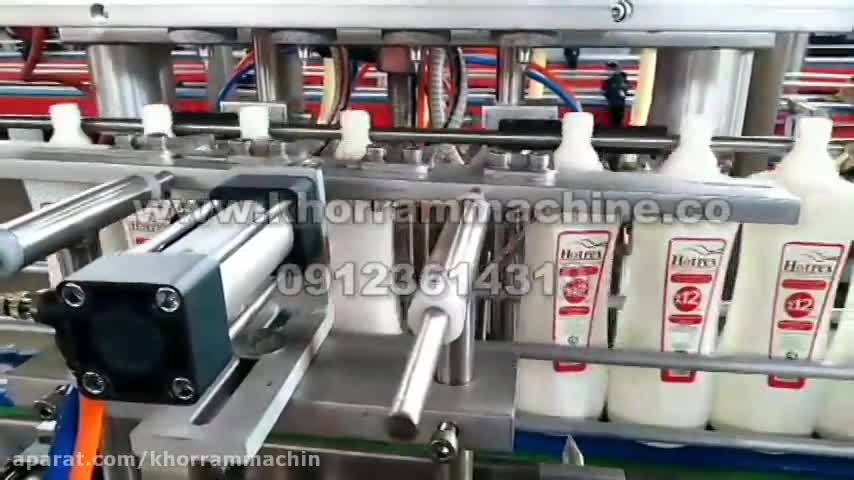 دستگاه پرکن مایعات سیلندر پیستون