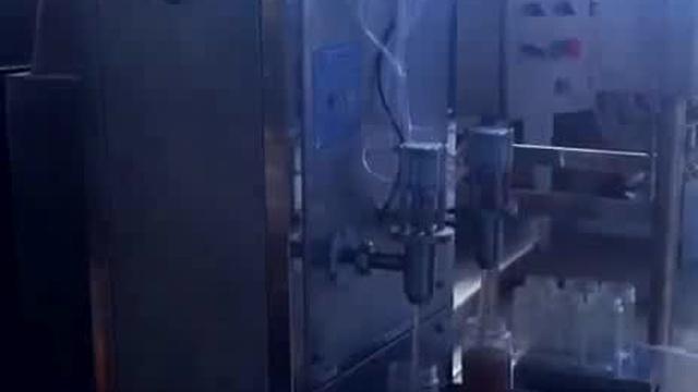 پرکن خطی دونازله پیستونی , دستگاه پرکن خطی مایعات