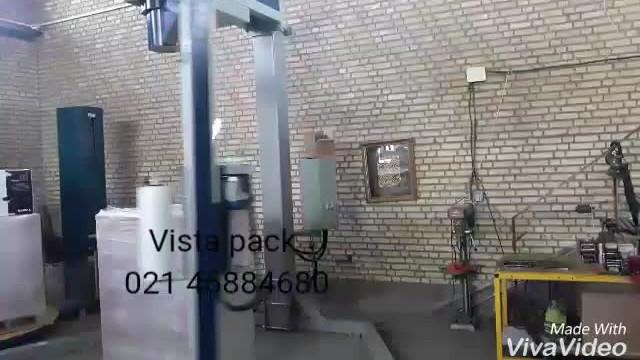 دستگاه استرچ پالت دکل گردان