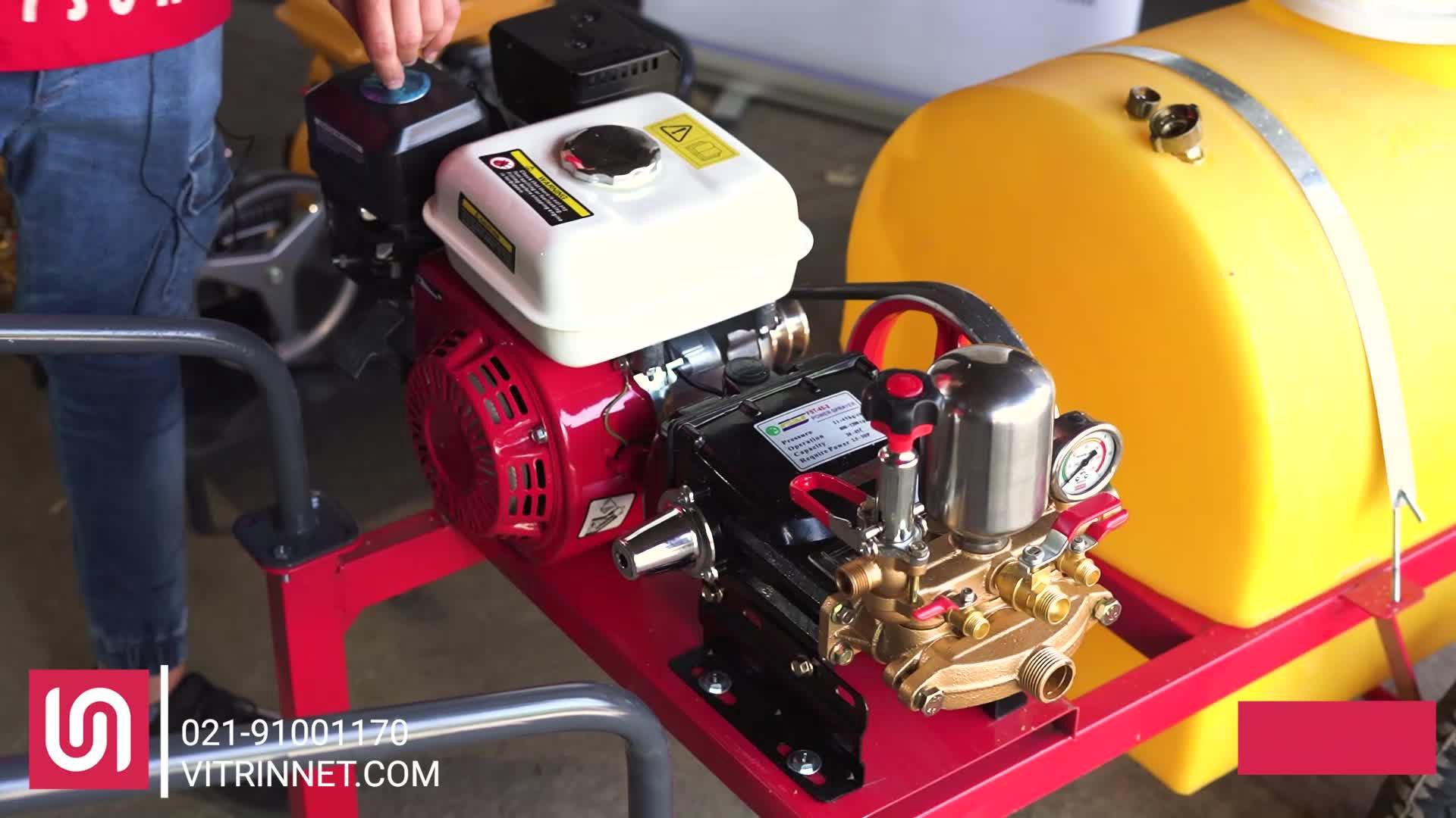 سمپاش زنبه ای با موتور هوندا چین و پمپ پیستونی 45 مدل 16694